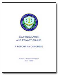 Self-Regulation and Privacy Online: A Re... by Pitofsky, Robert