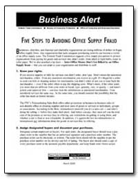 Five Steps to Avoiding Office Supply Fra... by
