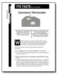 Unordered Merchandise by
