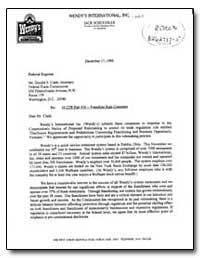 Re: 16 Cfr Part 436 - Franchise Rule Com... by Schuessler, Jack