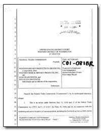 United States District Court Western Dis... by Milgrom, Michael