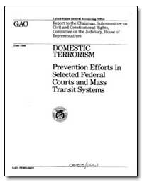 Domestic Terrorism Prevention Efforts in... by Chelimsky, Eleanor