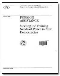 Meeting the Training Needs of Police in ... by Johnson, Harold J.