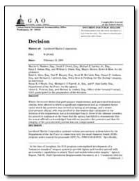 Lockheed Martin Corporation by Gamboa, Anthony H.