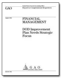 Financial Management Dod Improvement Pla... by Kutz, Gregory D.