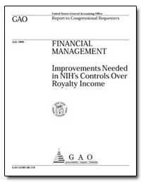 Financial Management Improvements Needed... by Jarmon, Gloria L.
