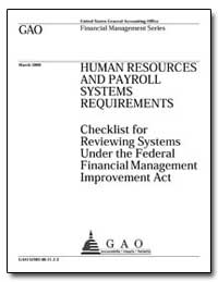 Human Resources and Payroll Systems Requ... by Steinhoff, Jeffrey C.