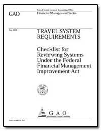 Travel System Requirements Checklist for... by Steinhoff, Jeffrey C.