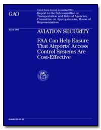 Aviation Security Faa Can Help Ensure Th... by Mead, Kenneth M.