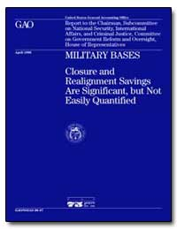 Military Bases, Closure and Realignment ... by Warren, David R.