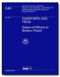 Passports and Visas Status of Efforts to... by Ford, Jess T.