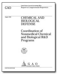 Coordination of Nonmedical Chemical and ... by Chan, Kwai-Cheung