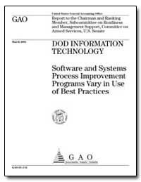 Software and Systems Process Improvement... by General Accounting Office