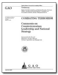Comments on Counterterrorism Leadership ... by Decker, Raymond J.