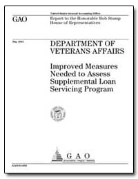 Department of Veterans Affairs Improved ... by General Accounting Office