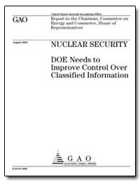 Nuclear Security Doe Needs to Improve Co... by General Accounting Office