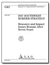Ins Southwest Border Strategy Resource a... by General Accounting Office
