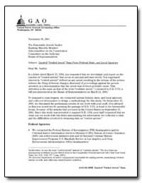 Limited Voided Arrest Data from Federal,... by Jones, Paul L.