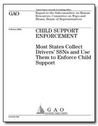 Child Support Enforcement Most States Co... by General Accounting Office