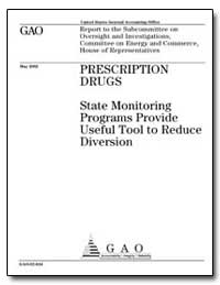 Prescription Drugs State Monitoring Prog... by General Accounting Office
