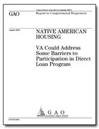 Native American Housing Va Could Address... by General Accounting Office