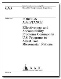 Foreign Assistance Effectiveness and Acc... by General Accounting Office