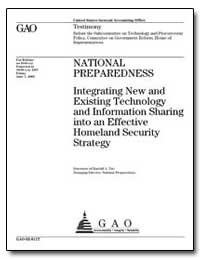 National Preparedness Integrating New an... by Yim, Randall A.