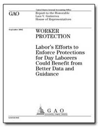 Worker Protection Labors Efforts to Enfo... by General Accounting Office
