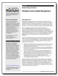 High-Risk Series Strategic Human Capital... by General Accounting Office