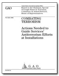 Combating Terrorism Actions Needed to Gu... by General Accounting Office