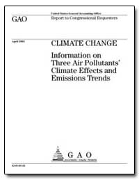 Climate Change Information on Three Air ... by General Accounting Office