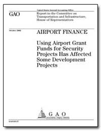 Airport Finance Using Airport Grant Fund... by General Accounting Office