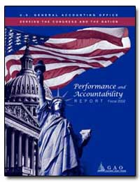 Performance and Accountability Report Fi... by Walker, David M.