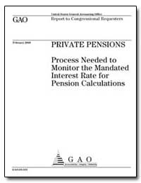 Private Pensions Process Needed to Monit... by General Accounting Office