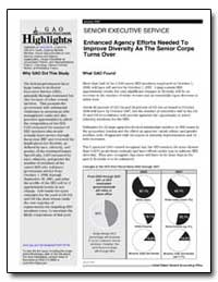 Enhanced Agency Efforts Needed to Improv... by General Accounting Office