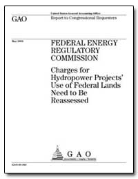 Federal Energy Regulatory Commission Cha... by General Accounting Office