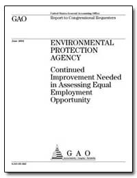 Environmental Protection Agency Continue... by General Accounting Office
