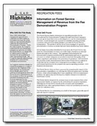 Information on Forest Service Management... by General Accounting Office