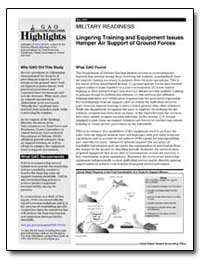 Military Readiness Lingering Training an... by General Accounting Office
