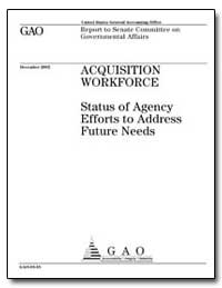 Status of Agency Efforts to Address Futu... by General Accounting Office