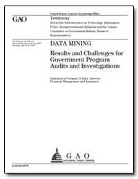 Data Mining Results and Challenges for G... by Kutz, Gregory D.