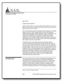 Natural Resources : Status of Merchantab... by General Accounting Office