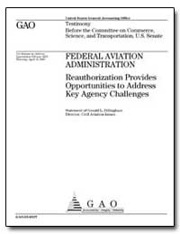 Federal Aviation Administration Reauthor... by Dillingham, Gerald L.
