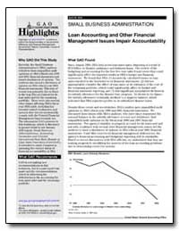 Small Business Administration Loan Accou... by General Accounting Office