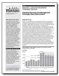 Training Center Capacity Planning and Ma... by General Accounting Office