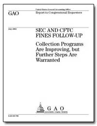 Fines Follow-Up Collection Programs Are ... by General Accounting Office