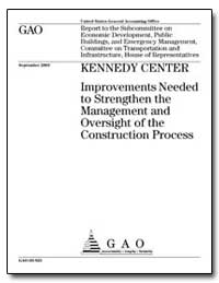 Kennedy Center Improvements Needed to St... by General Accounting Office