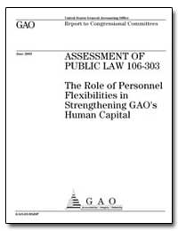 Assessment of Public Law 106-303 the Rol... by General Accounting Office