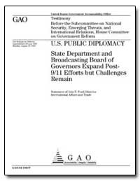 U.S. Public Diplomacy State Department a... by Ford, Jess T.