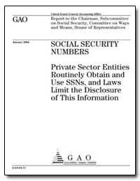 Private Sector Entities Routinely Obtain... by General Accounting Office